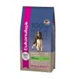 Eukanuba koeratoit eakale koerale lambaliha ja riisiga, 15 kg