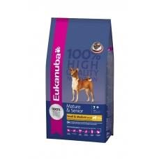 Eukanuba koeratoit väikest ja keskmist kasvu eakatele koertele - 15 kg