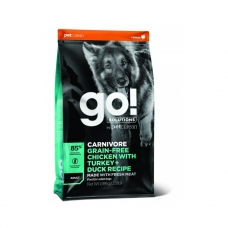 GO! Solutions Carnivore teraviljavaba koeratoit täiskasvanud koerale, kana-, kalkuni- ja pardilihaga, 10 kg