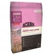 Acana Singles Dog Grass-Fed Lamb koeratoit  lambaliha ja õuntega, 17 kg