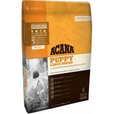 Acana Heritage 25 Dog Puppy Large Breed teraviljavaba kutsikatoit suurt tõugu kutsikale, kanalihaga, 11,4 kg