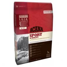 Acana Heritage 25 Dog Sport & Agility koeratoit aktiivsele koerale kanalihaga, 11,4 kg