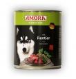 Amora konserv koertele põdra- ja loomalihaga, 12x800 gr