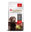 Applaws Dog Adult Large Chicken kanalihaga teraviljavaba kuivtoit suurt tõugu koertele, 15 kg