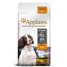 Applaws Dog Adult Small&Medium Chicken kuivtoit väikest ja keskmist kasvu täiskasvanud koertele, 15 kg
