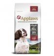 Applaws Dog Adult Small&Medium Chicken&Lamb teraviljavaba kuivtoit väikest ja keskmist kasvu täiskasvanud koertele, 15 kg