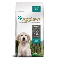 Applaws Dog Small & Medium Breed Chicken Puppy kutsikatoit väikest ja keskmist tõugu kutsikale, 7,5 kg