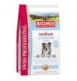 Biomill Medium Junior Chicken koeratoit kanalihaga keskmist kasvu kutsikatele, 12 kg