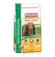 Biomill Mini Adult koeratoit kanalihaga väikest kasvu koertele, 12 kg