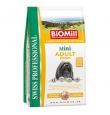 Biomill Mini Adult koeratoit kanalihaga väikest kasvu koertele, 3 kg