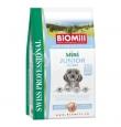 Biomill Mini Junior Chicken koeratoit kanalihaga väikest kasvu koertele, 3 kg
