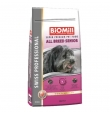 Biomill koeratoit All Breed Senior ulukilihaga, 12 kg