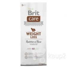 Brit Care Light Rabbit and Rice dieettoit küülikuliha ja riisiga, 3 kg