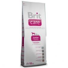 Brit Care Junior Large Breed kutsikatoit suurt tõugu kutsikatele, lambaliha ja riisiga, 12 kg