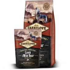 Carnilove Lamb&Wild Boar koeratoit metssea- ja lambalihaga, 12 kg