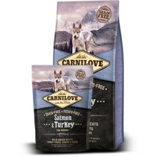 Carnilove Salmon&Turkey kutsikatoit lõhe ja kalkunilihaga, 12 kg