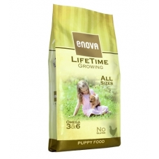 Enova Lifetime Growing kutsikatoit kanalihaga, 12 kg