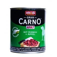Animonda Gran Carno Adult konserv koertele veise-, hirveliha ja õuntega, 12x800 gr