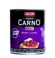 Animonda Gran Carno Adult konserv koertele looma- ja lambalihaga, 12x800 gr