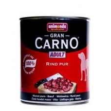 Animonda Gran Carno Adult konserv koertele loomalihaga, 12x800 gr
