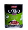 Animonda Gran Carno konserv kutsikale ja noorele koerale kana- ja jäneselihaga, 12x800 gr