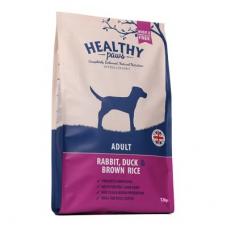 Healthy Paws koeratoit jäneseliha, pardiliha ja pruuni riisiga, 12 kg