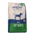 Healthy Paws koeratoit Briti Lambaliha & Pruuni Riisiga, 2 kg