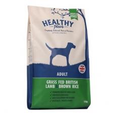 Healthy Paws koeratoit Briti Lambaliha & Pruuni Riisiga 12 kg