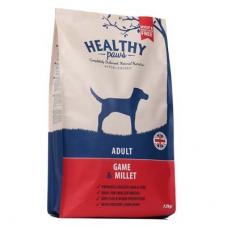 Healthy Paws Game & Millet koeratoit ulukilihaga, 12 kg