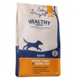 Healthy Paws British Turkey & Brown Rice kutsikatoit kalkuni ja pruuni riisiga, 12 kg