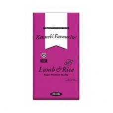 Kennel's Favourite koeratoit lambaliha ja riisiga, 20 kg