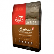 Orijen Dog Regional Red teraviljavaba koeratoit, 11,4 kg