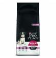 Pro Plan Dog Adult with Sensitive Skin koeratoit keskmist kasvu koertele lõhega, 14 kg