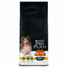 Pro Plan Dog All Sizes Adult Light Chicken koeratoit steriliseeritud või ülekaalulisele koerale kanalihaga, 14 kg