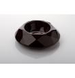 DePeDi keraamiline söögikauss Diamond, must, erinevad suurused