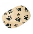 Pehmest fliisist koeraase käpamustriga - erinevad suurused